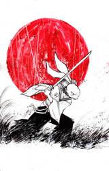Commission: Usagi Yojimbo by ARIELAkris