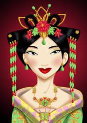 Royal Jewels: MULAN by MissMikopete