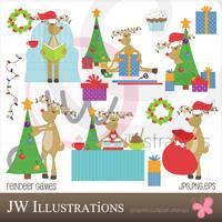 Reindeer Games by jdDoodles