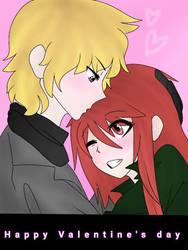Happy Valentine's day ! (Late lol) by ChichiDaKitsu