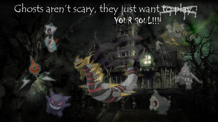 Ghosts Aren't Scary by DragonSoulSong