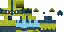 Shiny Lucario Minecraft Skin by DragonSoulSong