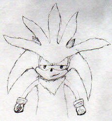 Silver the Hedgehog 30-Minute Challenge by DragonSoulSong