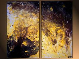abstract sun by murrayjenkins