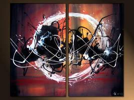 abstract circle by murrayjenkins