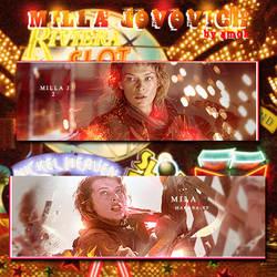 Milla Jovovich TAGWall by tehsmok