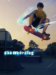 skateboard by tehsmok