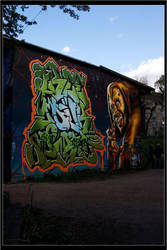 Christiania graffiti II by evilcheese
