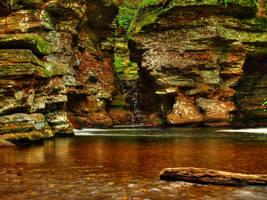 Ricketts Glen State Park 106 by Dracoart-Stock