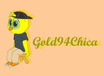Chibi Gold94Chica by NerdBurger65