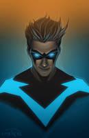 Nightwing by ForstoArt