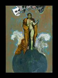 The Tarot Series - 124 by Adillo