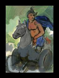 The Tarot Series - 128 by Adillo