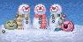 4 - 3 Snowmen by Krissi001