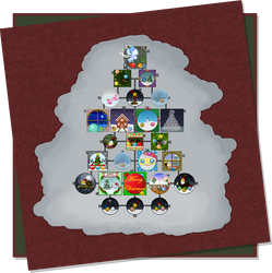 Emoticonist Advent Calendar Project 2018 - day 25 by Krissi001