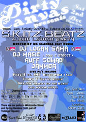 S.K.I.T.Z Beatz Flyer Back by Graffiti-Artist