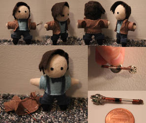 Tiny Eleven Plushie take 2 by snappop