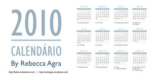 2010 Vector Calendar by Bebecca