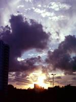 Sunset III by Bebecca