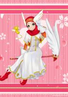 Sakura Hijab by ainosora
