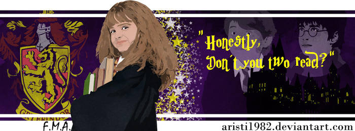 FLAG (Quote) - series 13 - Hermione by aristi1982