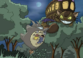 Tonari no Totoro by nuvalo