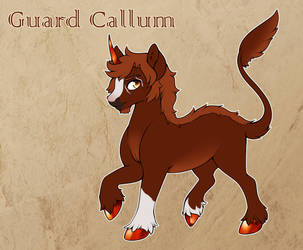 Callum | Hart | Guard by CrispyCh0colate