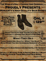 Sherlock: Moriarty's High Quality Skin Shoes by Rosterlu