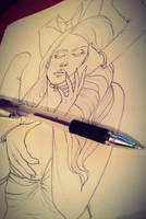 Miliion.collar.man.wip.pen by SleepDera