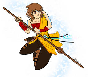 If you're an airbender why do you have hair by Piixx