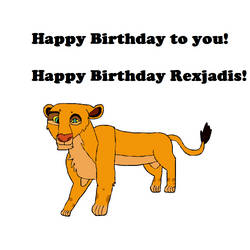 Birthday gift for Rexjadis by chassb
