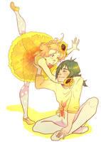yellow by aerryi