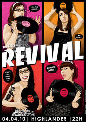 REVIVAL - FLYER by rock-artwork