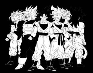 Goku by albertocubatas