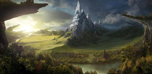 forsaken lands by MarkGart