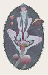 mushroom fairy by Donna-Quixote
