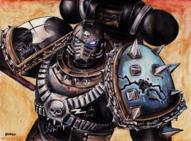 Death of Hope-Blackshield World Eater Destroyer by Bradockart