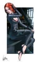 Avengers - Black Widow - Scarlett Johansson by ViiPerArt
