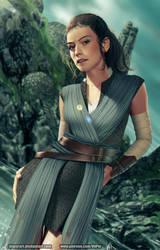 Rey - Star Wars VIII by ViiPerArt