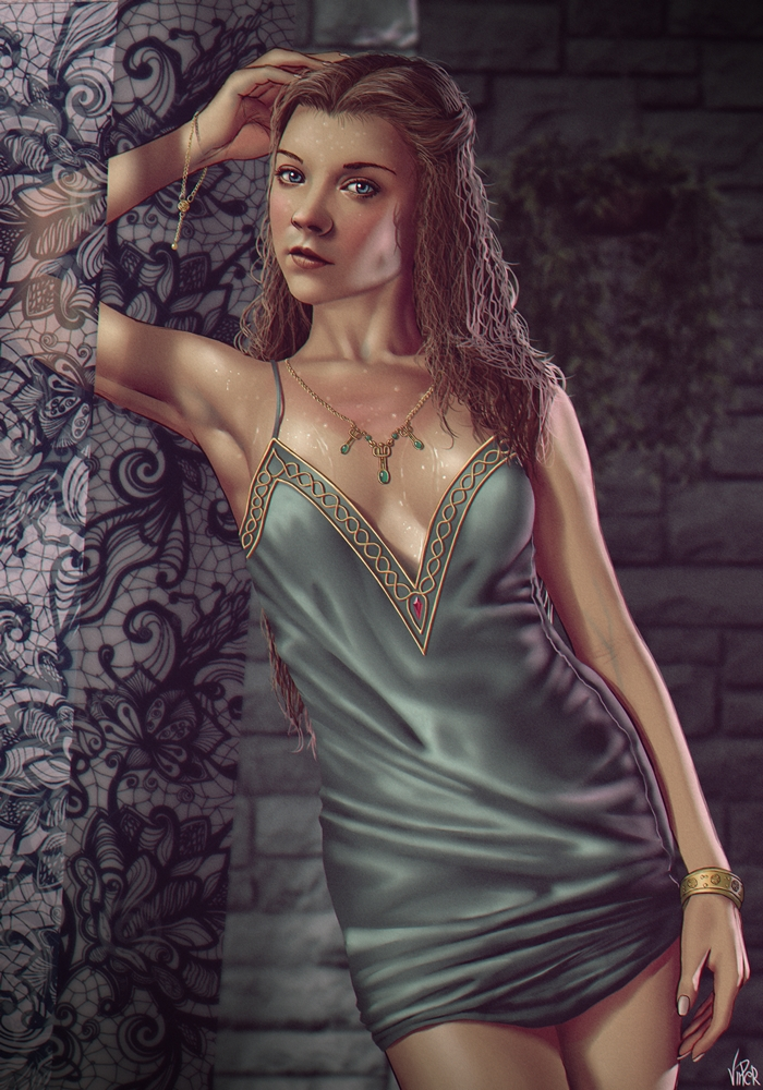Game of Thrones - Margaery Tyrell by ViiPerArt