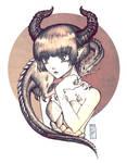 Dragon girl by AcyeL