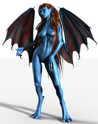 Gargoylette by DarioFish