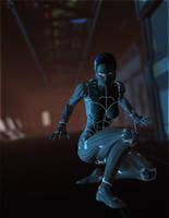 Cybernetic Infiltrator by DarioFish