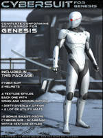 HFS CyberSuit for Genesis by DarioFish