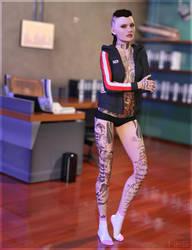 Lovely Socks Jennifer by DarioFish