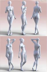 Iconic Beauties for G3F (5) by DarioFish