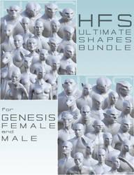 HFS Ultimate Shapes Bundle by DarioFish