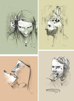 four faces by tayama