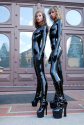 princess de latex - the russia Girls by LXXT