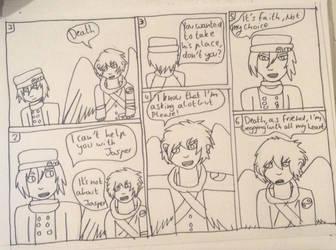 Replace Part 1: [ WIP Comic ] by PurpleGuytheKiller